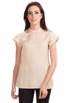 Morag Blouse in Beige