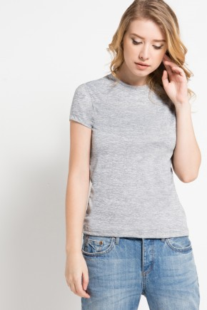 Abra Knit Top in Grey