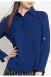 Nell Shirt in Navy