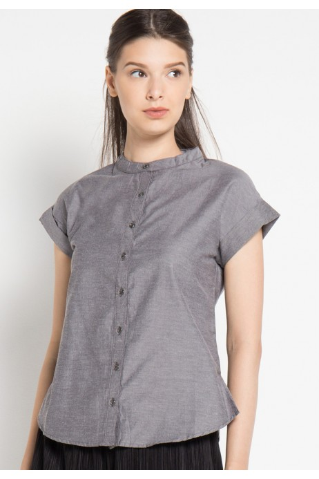 Andie Shirt in Grey
