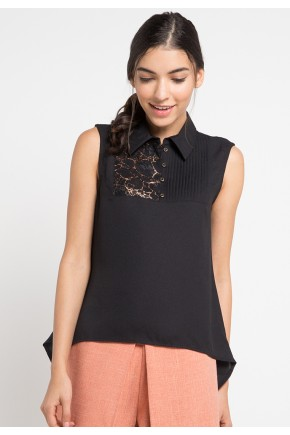 Kati Blouse in Black
