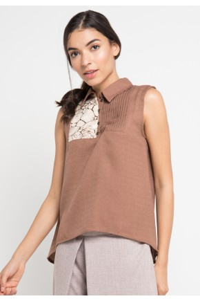 Kati Blouse in Brown