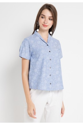 Tally Shirt in Blue