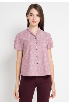 Tally Shirt in Maroon