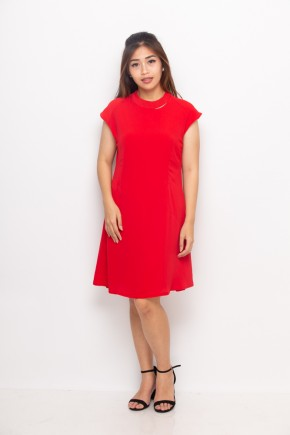 Bree Dress In Red