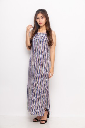 Ivana Maxi Dress In Blue