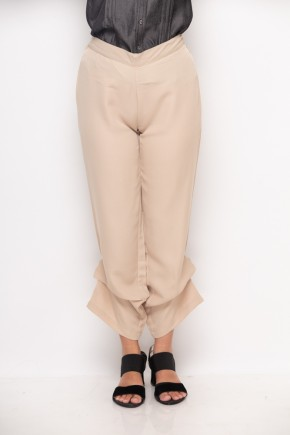 Oviya Pants In Beige
