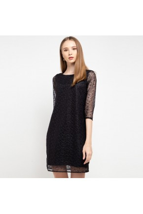Traci Lace Dress In Black