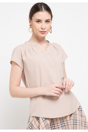 Orli Blouse In Beige