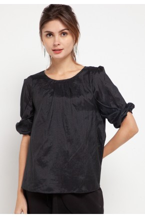 Cassie Blouse in Black