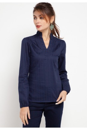 Rhys Blouse In Navy