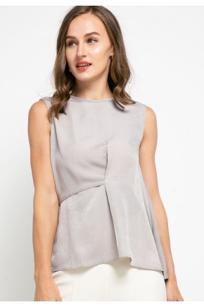 Sophistix Cavin Blouse In Grey