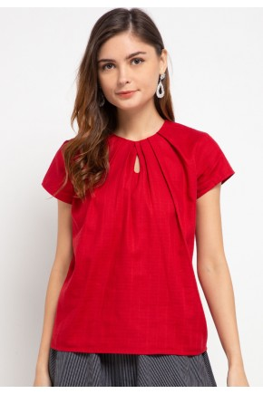 Sophistix Avea Blouse in Red