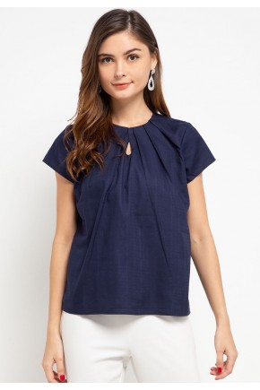 Sophistix Avea Blouse in Navy